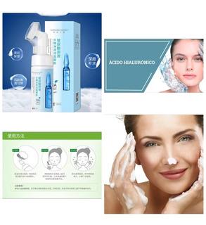 Limpiador Facial Acido Hialuronico Blanqueador Cotrol Grasa