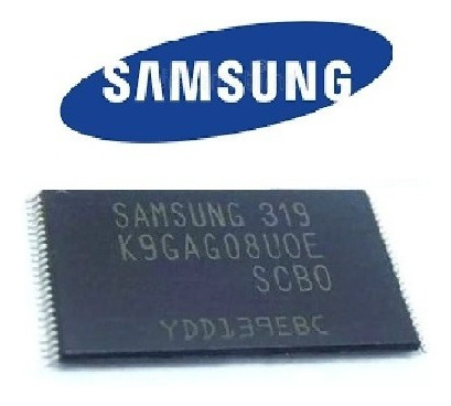 Memória Flash Nand Unxxd5500 Gravada E Atualizada Samsung