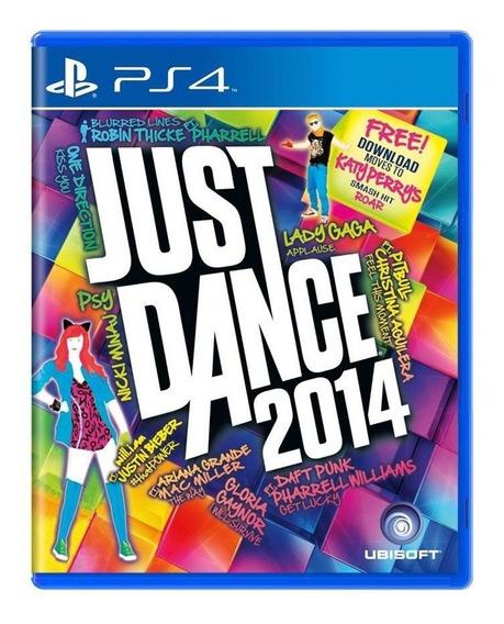 Just Dance 2014 Ps4 Mídia Física Pronta Entrega
