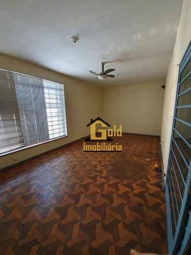 Casa Com 3 Dormitórios À Venda, 271 M² Por R$ 430.000 - Jardim Mosteiro - Ribeirão Preto/sp - Ca0694