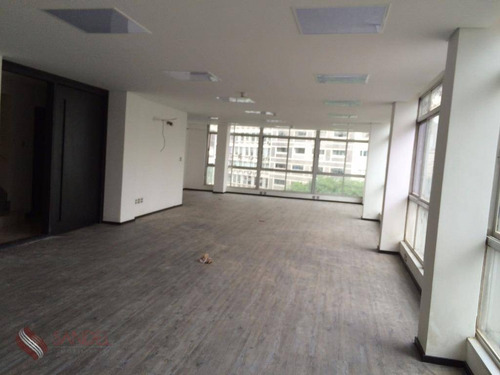 Excelente Sala Comercial 130m² - 2 Vagas - Consolação (s) - Sa0003