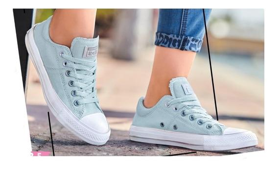 Tenis Converse Original Dama Mujer Sneakers Casual Menta