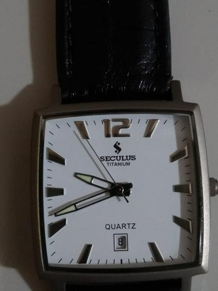 Relógio Seculus Titanium Social