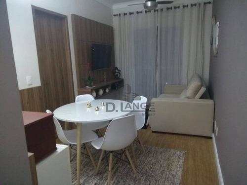 Imagem 1 de 25 de Apartamento À Venda, 60 M² Por R$ 390.000,00 - Jardim Santa Genebra - Campinas/sp - Ap17795