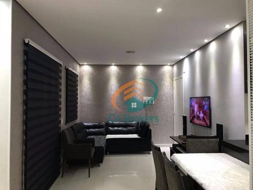 Apartamento Gardem, 3 Dormitórios 1 Suíte 1 Vaga À Venda Na Vila Augusta, Guarulhos - Gd0001