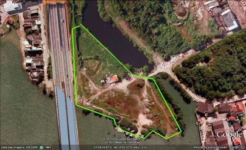 Imagem 1 de 10 de Terreno À Venda, 21969 M² Por R$ 15.000.000,00 - Parque Bitaru - São Vicente/sp - Te0026