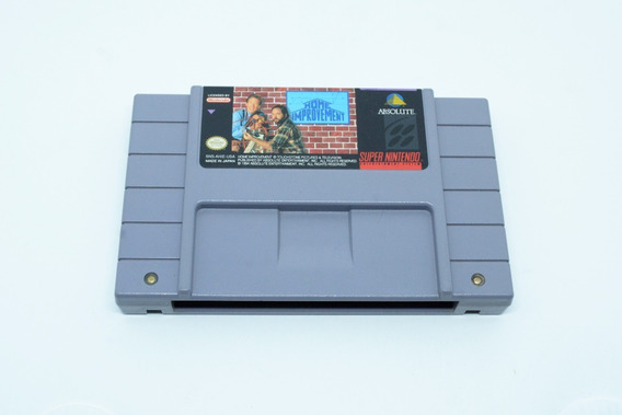 Fita Snes Home Improvement Cartucho Super Nintendo