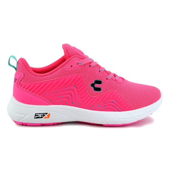 Tenis Charly Para Dama 1049261 Fucsia [chy2551]