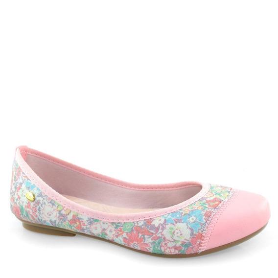 Sapatilha Klin Jully Conforto Delicada Floral 172034