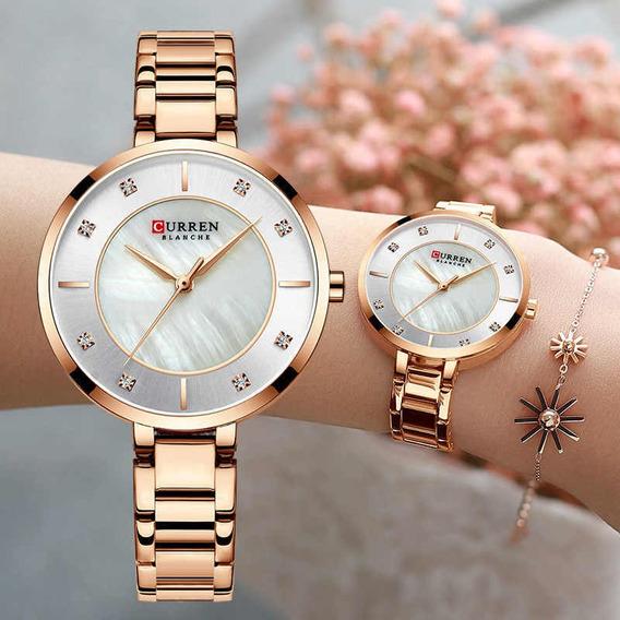 Relógio Feminino Curren Importado Modelo 9051