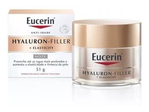 Eucerin Hyaluron Filler Elasticity Noite 51g - Original