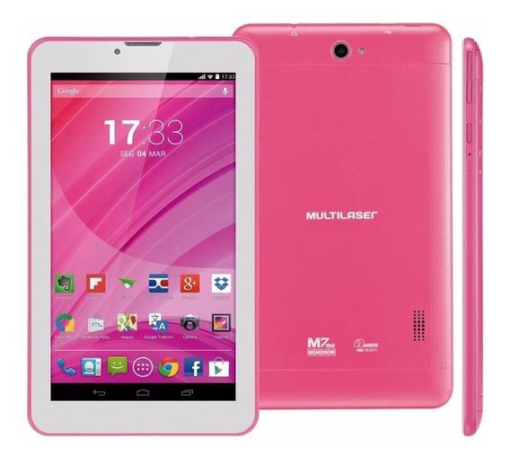 Tablet M7s 7pol 8gb Wi-fi Quad Core 2mp Nb186 Anatel