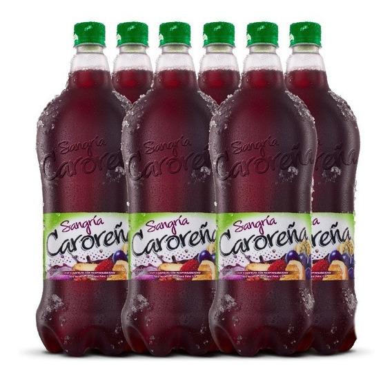 Sangría Caroreña Tinta (6 Botellas) 1,75 L
