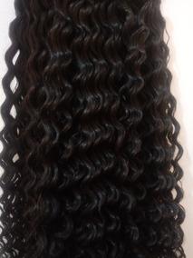Cabelo Humano Cacheado A Vapor P/mega Hair 50 A 55cm 50gr