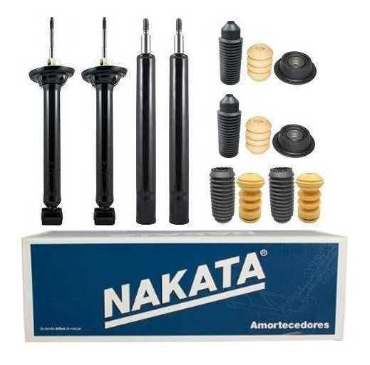 Kit 4 Amortecedor Gol G4 / G3 + Coxim + Kit Reparo - Nakata