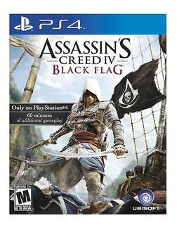 Assassins Creed Iv Black Flag Ps4 Nuevo Sellado