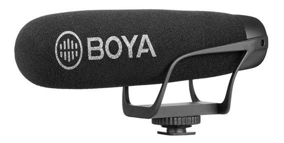 Microfone De Vídeo Direcional Cardióide Boya By-bm2021
