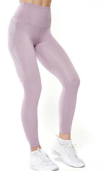 Leggings Deportivas Tiro Alto Elastizadas Para Mujer