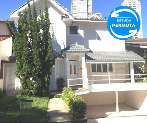 Imagem 1 de 13 de Casa Com 4 Dormitórios À Venda, 307 M² Por R$ 2.300.000,00 - Alphaville - Santana De Parnaíba/sp - Ca0828