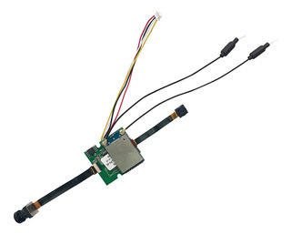 Placa Receptor Gps Módulo Geomagnético 5g-4k+fluxo Óptico