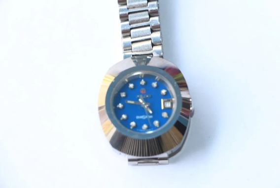 Reloj Rado Diastar Automático Plateado Dama Al Mejor Precio