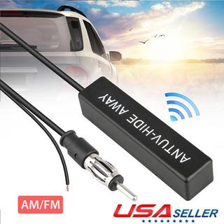 Auto Car Oculto Antena Amplificada 12v Radio Estéreo Electr