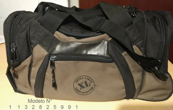 Bolso Marca Xl (extra Large) 37lts Super Reforzado