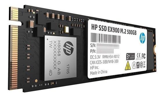 Ssd Hp Ex900 500gb M.2 2280 Nvme Lacrado Pronta Entrega!