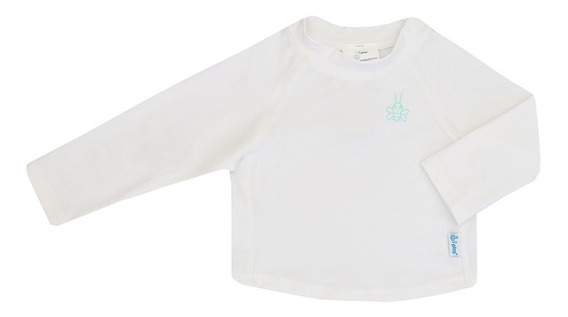 Camisa Banho Manga Longa Branco Fps 50+