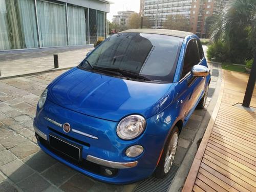 Imagen 1 de 15 de Fiat 500 Cabriolet Lounge At