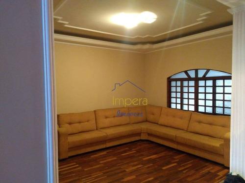 Sobrado Com 3 Dormitórios À Venda, 240 M² Por R$ 460.000,00 - Vila Tesouro - São José Dos Campos/sp - So0033