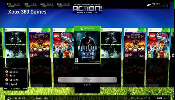 Xbox 360 Slim Original Rgh - 160gb Envio Imediato Hj