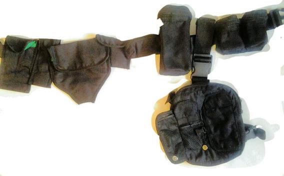 Cinturon Ninja Para Acesorios Shuriken Kunai Tactico