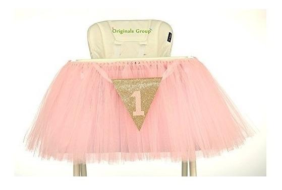 Originals Group 1st Birthday Baby Pink Tutu Falda Para La De