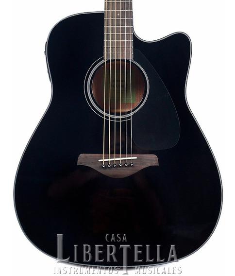 Guitarra Electroacústica Yamaha Fgx800c Bl Black Nueva