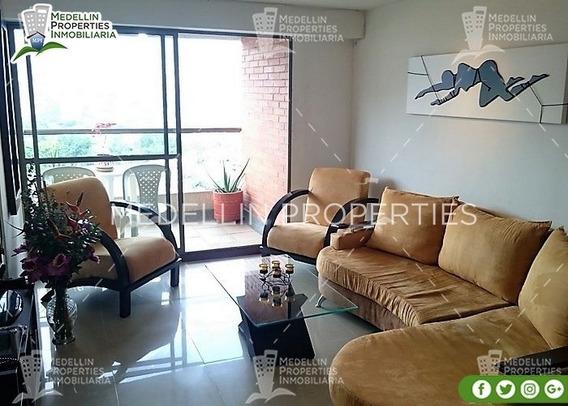 Arrendamientos De Apartamentos Baratos En Medellín Cód: 4276