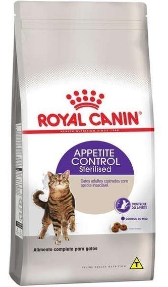 Ração Royal Canin Sterilised Appetite Control Gatos - 1,5kg
