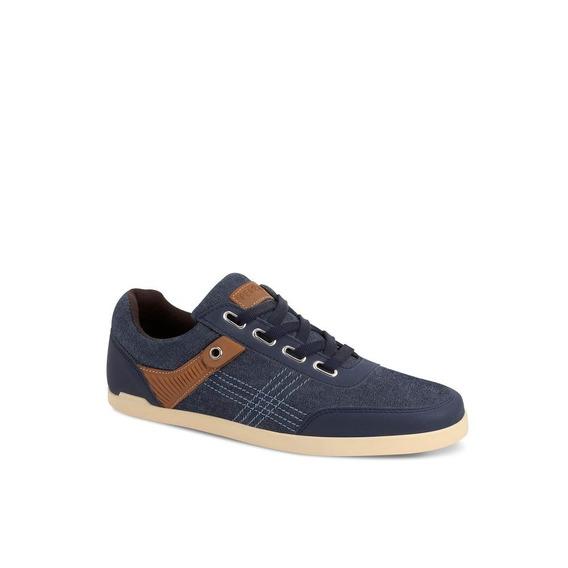 Sneaker Low Top Hombre Azul Andrea 2018
