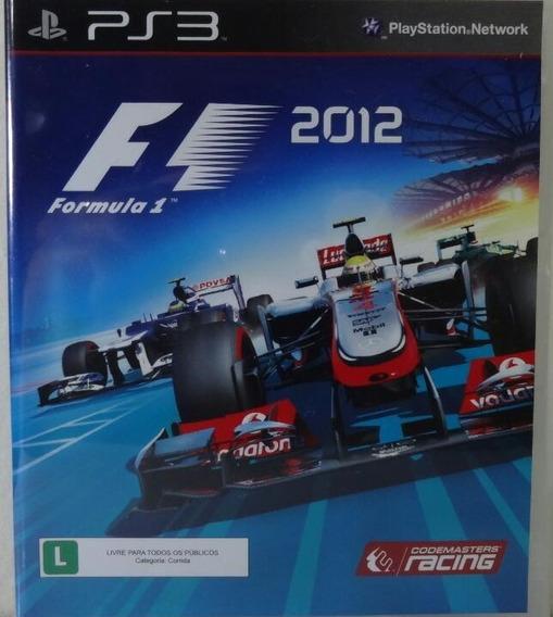 Jogo De Ps3 F1 2012 Em Mídia Física