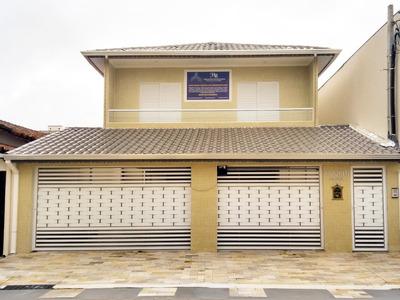 Casa Condominio À Venda, Vila Guilhermina, Praia Grande. - Ca0543