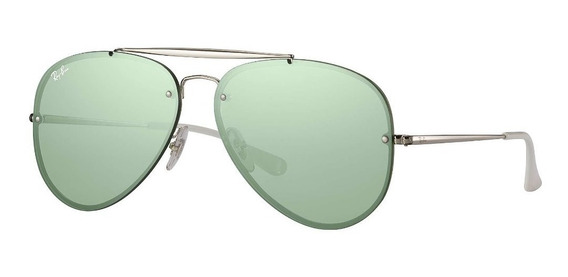 Lentes Ray Ban Blaze Aviator Original Rb3584n 905130 Mediano
