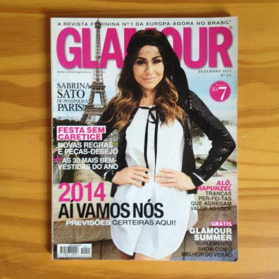 Revista Glamour 21 Dez2013 Sabrina Sato Em Paris Tx