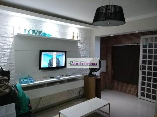 Imagem 1 de 21 de Sobrado Com 2 Dormitórios À Venda, 90 M² Por R$ 350.000,00 - Sacomã - São Paulo/sp - So0897