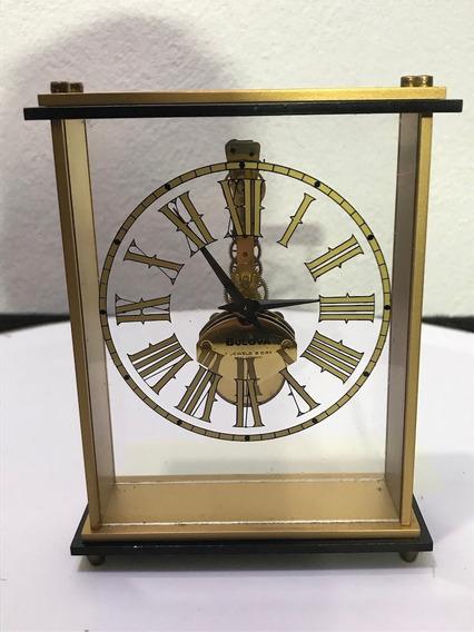 Hermoso Raro Reloj Skeleton Bulova Original Alemán 7 Jewels