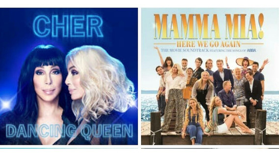 Cd Cher Dancing Queen + Mamma Mia - 2 Cds Lacrados