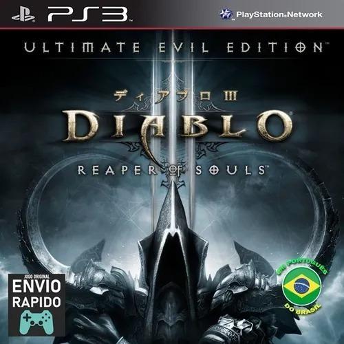 Diablo Iii 3reaper Of Souls Ultimate Ps3 Psn