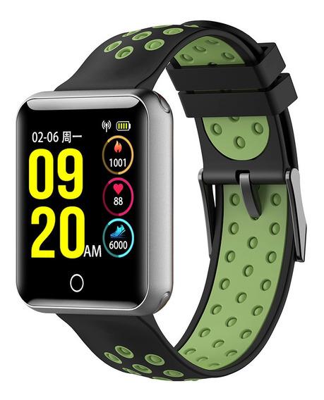 Iqi Q18 Reloj Inteligente Digital Inteligente Deporte Pulser