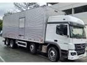 Mb Atego - 2430 - 2014 - 8x2 - Teto Alto - Bau - R$ 225.000,