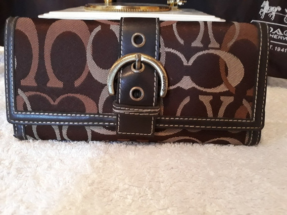 Cartera Coach Original Cafe