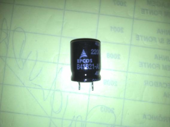 Capacitor Eletrolitico 2200 X 25 V Lote Com 50 Peças